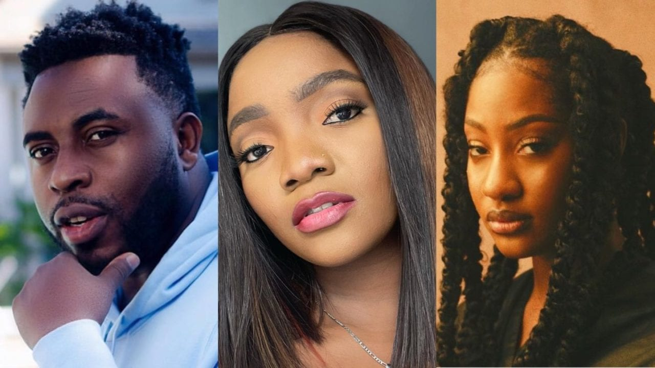 """""""You are a snake"""" – Samklef to blast Simi for her response to his tweet about Tems"""